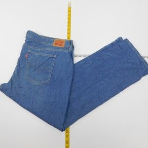 Levi's 24W  Blue Denim Jeans 414 Classic Straight